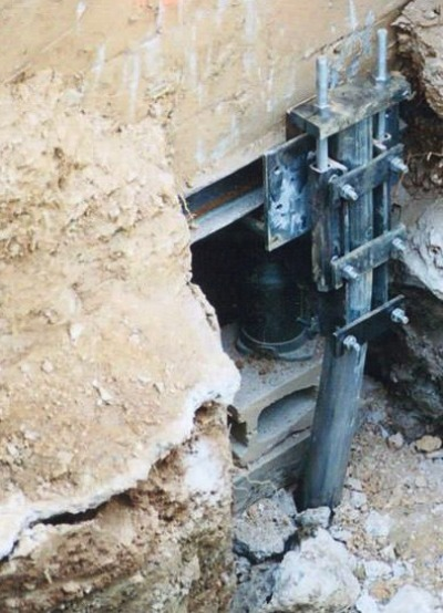concrete pier foundation repair contractor Altus