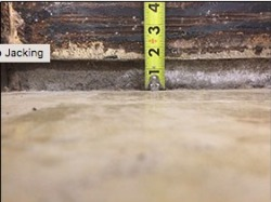 Durant slab injection foundation repair