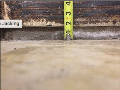 Sapulpa slab injection foundation repair