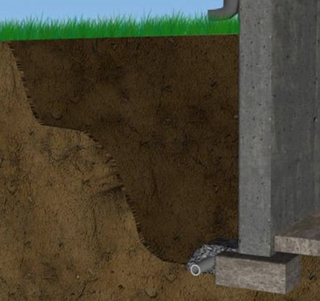 wall tie foundation repair contractor in Bethany OK